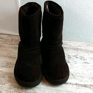 Zodiac Mendes brown leather winter Boots